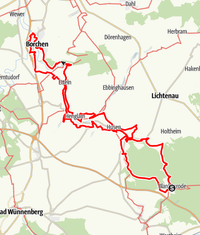 Karte / Altenau-Wanderweg
