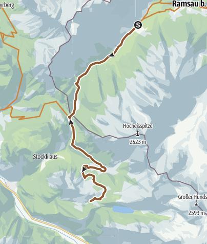 Karte / MTB: 04 - Kallbrunnalm