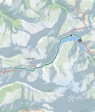 Karte / Kölnbreinsperre - Großelendscharte - Mallnitz