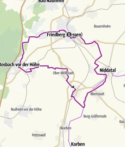 Karte / Wetterauer Mitte