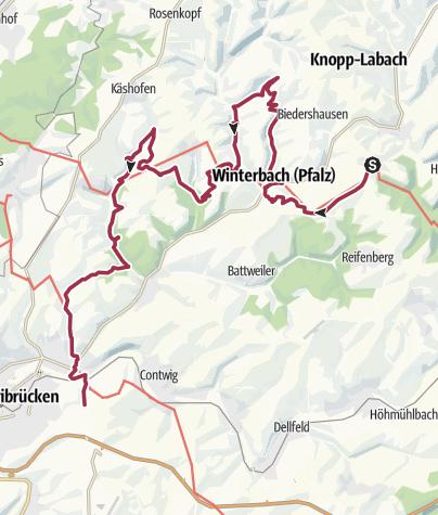 Karte / Meteoritenweg