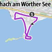 Karte / Nussschneckn Strecke