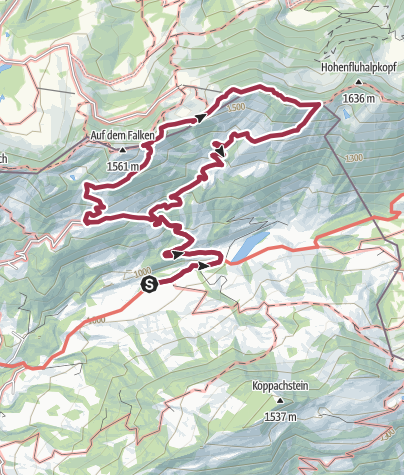 Map / Hittisau | the village with most alps