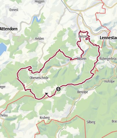 Map / Veischeder Sonnenpfad