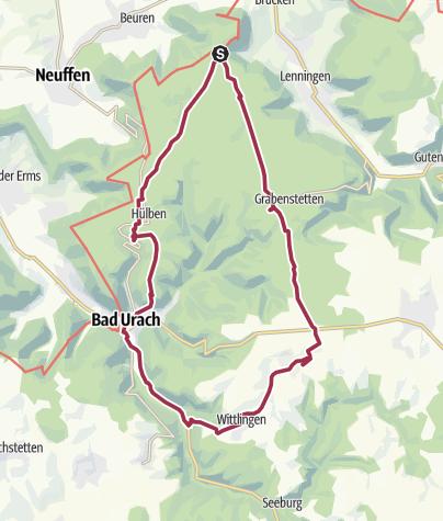 Karte / wasserversorgung erkenbrechtsweiler