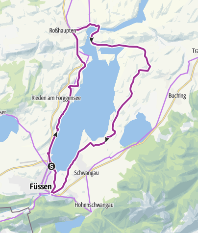 Map / Forggensee-Runde