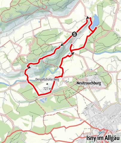 Karte / An der Unteren Argen - Westallgäuer Wasserweg 26