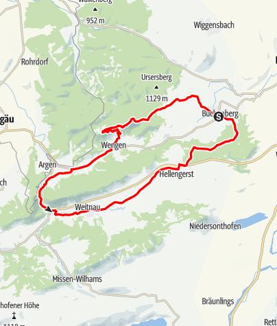Karte / Sonneck-Runde