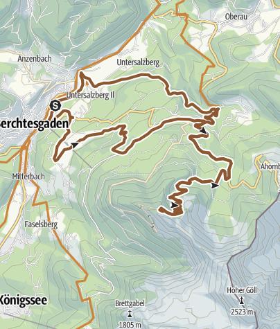 Karte / MTB: 08 - Kehlstein-Runde
