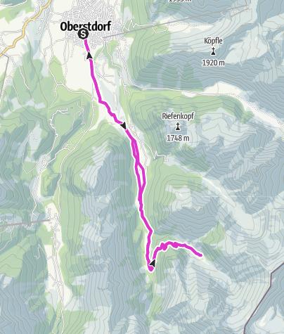 Karte / Traufbachtal