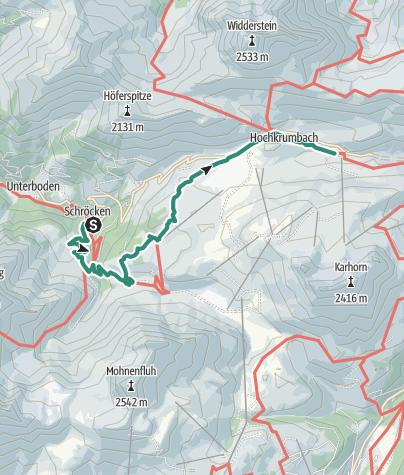Map / Walser Wasser Wanderweg