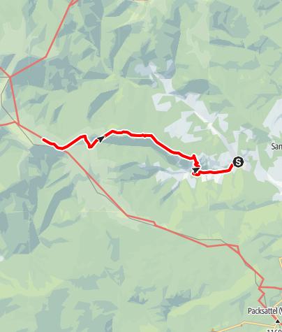 Karte / Hirschegger Schatzsuche