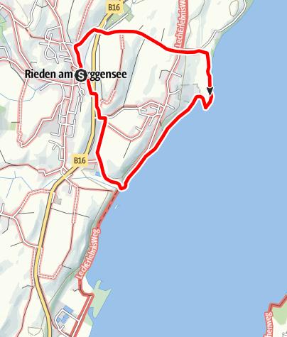 Karte / Sentenbergrunde