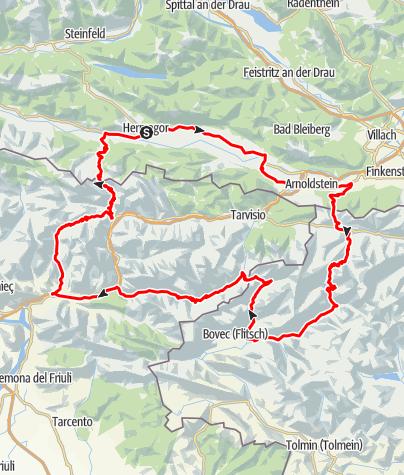 Karte / Triglav-Nationalpark