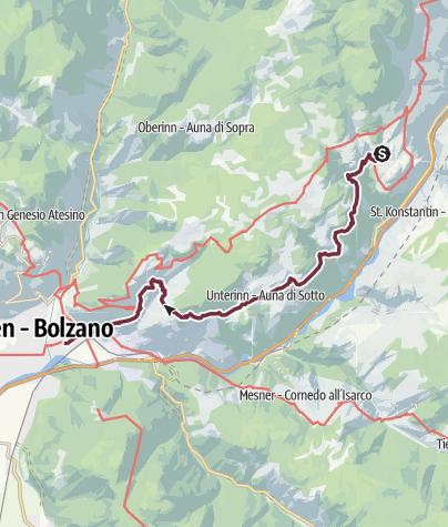 Fernwanderweg München Verona Etappe 15 Von Lengstein Nach