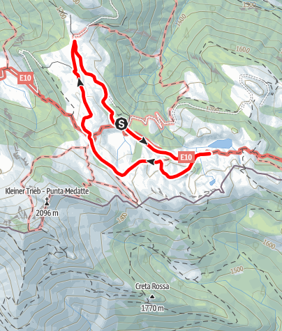 Karte / Geotrail Zollnersee
