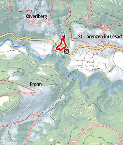 Karte / Kraftquelle Radegund
