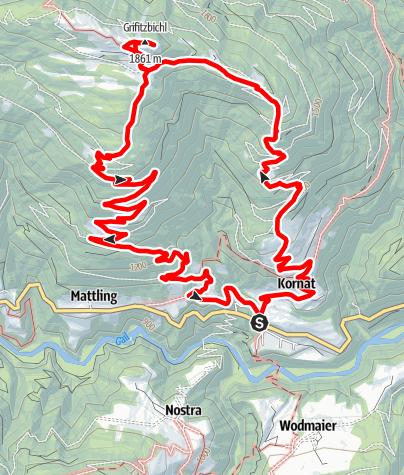 Karte / Grifitzbühel