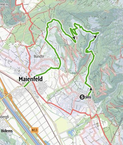 Map / Visit to Heidi's Alp