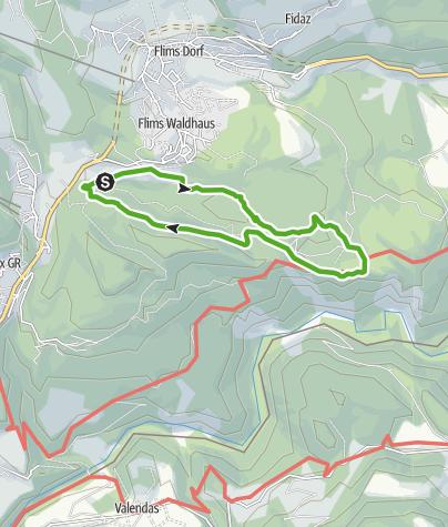 Map / 659 Senda Ruinaulta