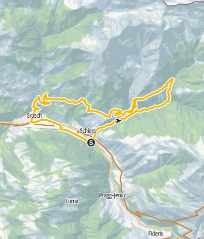 Map / 322 Salginatobelbrücke