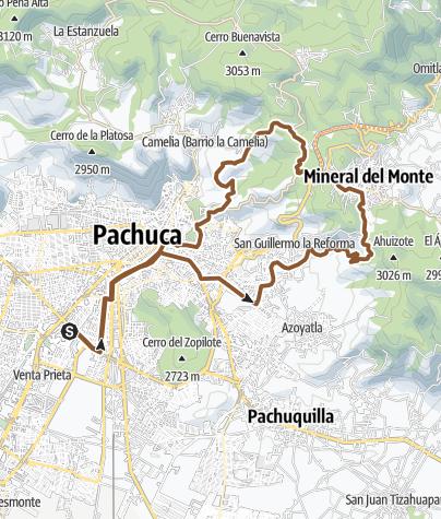 Mapa / Pachuca-Rufina-Cristo