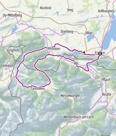 Map / Alpentäler-Runde