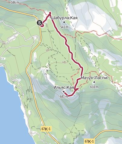 Mappa / Прогулка к Храму Солнца