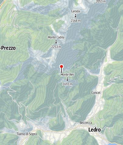 Karte / Mga. Vies 1556m