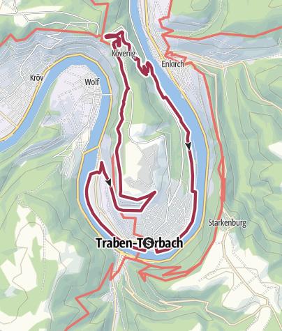 Karte / T 9 lang - Wanderung um einen königlichen Berg