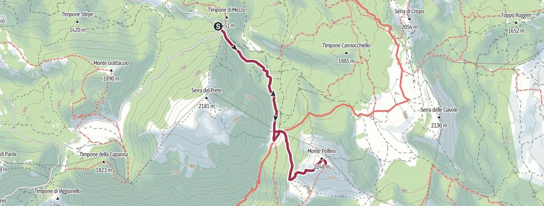 Mapa / gudolino-pollino