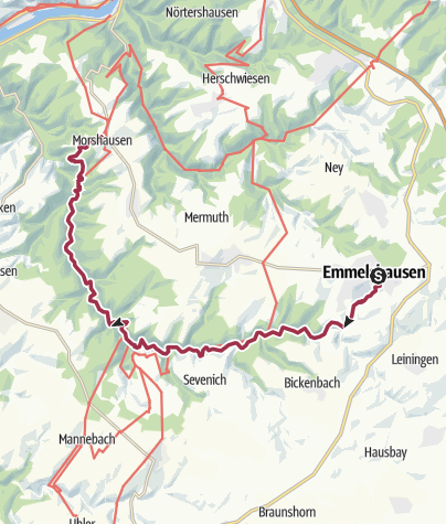 Karte / Baybachtal