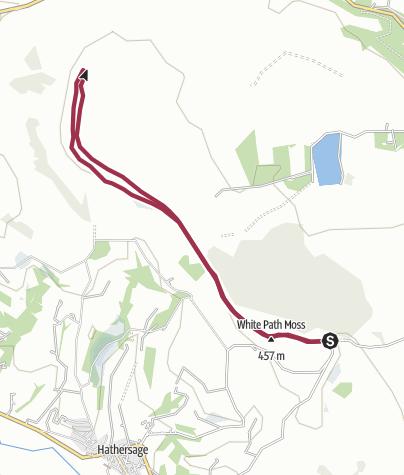 Map / Stanage Edge Easy Walk