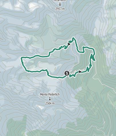 Map / Trek ring to Cornisello – Amola