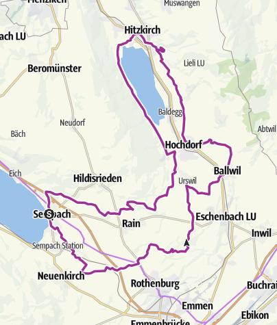 Map / Sempach-Hochstammtour (Schloss Heidegg)