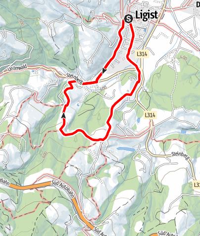 Karte / Schmankerlweg kurz
