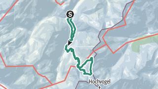 Map / Crossing the Fuchskarspitze