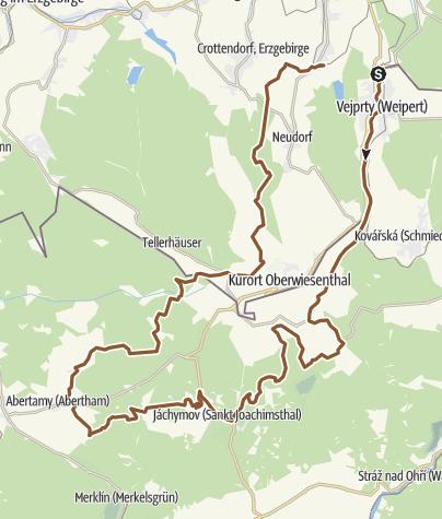 Karte / Himmelfahrtstour