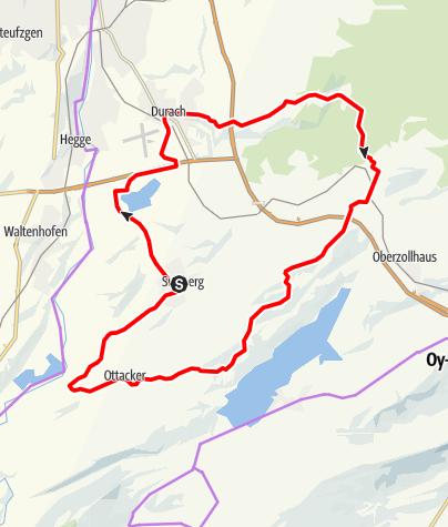 Karte / Sulzberger Runde