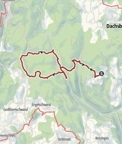 Karte / Dachsberg: Zum 7-Moore-Weg