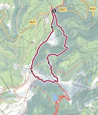 Karte / Auf dem Felsenweg