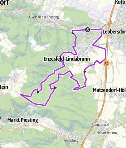 Map / Hirtenberg Lindabrunn