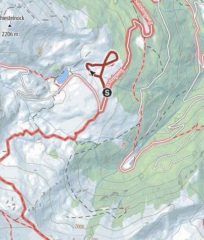 Map / Weg der Elemente / Biosphärenpark Nockberge