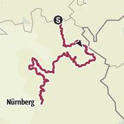 Mappa / Der Fränkische Gebirgsweg