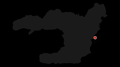 """Karte / Über den """"Königsweg"""" zum Schachen"""