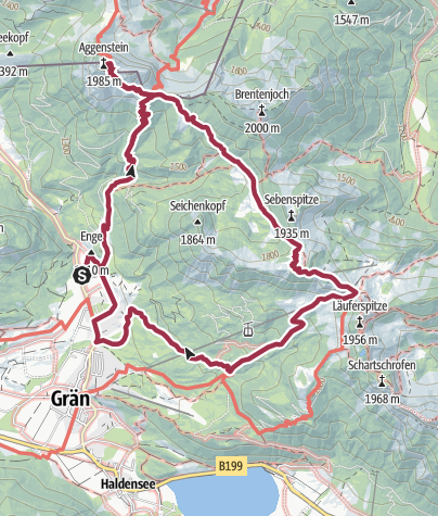 Map / Aggenstein Variante 2