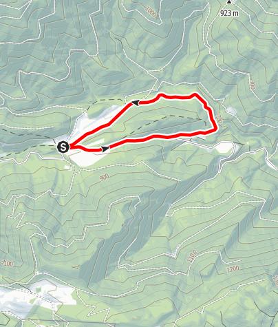 Karte / Kleine Promaurunde