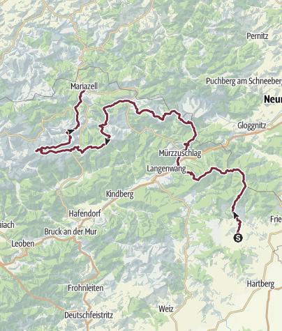 Map / Vom Hochwechsel zum Hochschwab