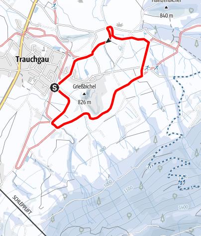 Karte / Trauchgauer Loipe (T 2)