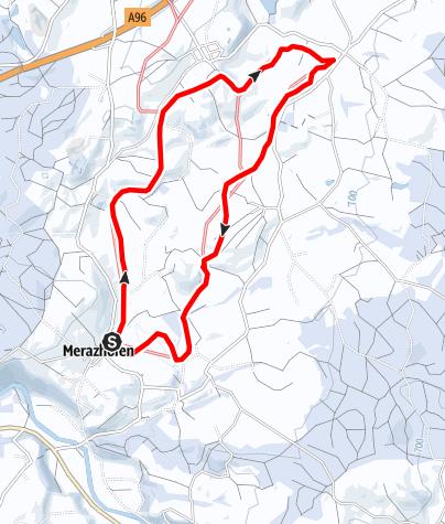 Karte / 15.1 Mühlbach-Loipe Große Runde